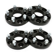 4pcs 20mm Wheel Spacers Hubcentric 5x4.5 5x114.3mm 12x1.5 64.1mm Fit Honda Acura