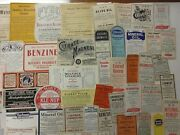80+old Large Pharmacy-apothecary-medicine Bottle Labels=super Selection