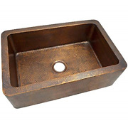 The Copper Factory Cf165an Solid Hand Hammered Copper 32-inch By 21-inch Large