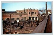 Vintage 1949 Postcard New York Central Railroad In Electric Shop Harmon New York
