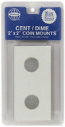 Whitman Publishing Cor-cent/dime 2` By 2` Coin Mounts Book New