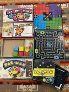 Vintage 1980 Ms. And Pac Man - Milton Bradley Board Game 3 Games Looks Complete