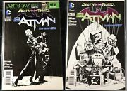 Batman 14 And 17 New 52 Death Of The Family 1100 Sketch Variant Comic Lot