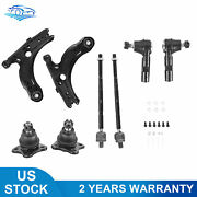 Pair Front Lower Control Arm Ball Joints Assy For Volkswagen Beetle Jetta Golf