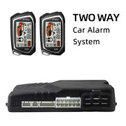Remote 5km Two Way Car Alarm System Security Keyless Entry Central Door Locking