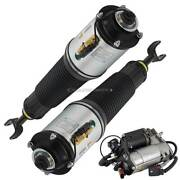 For Audi A8 Quattro And S8 Pair Arnott Front Air Struts W/ Compressor