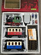 Lgb G Scale 20301 Passenger Starter Set Complete In Box C-9 2774 With Track
