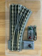 Rail King By Mth Operating O-42 Right Hand Switch O Scale