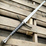 New Custom Handmade Carbon Steel Lord Of The Rings Glamdring Sword