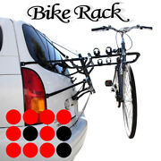 Ford Rear Back Trunk Bicycle Mounting 3 Bike Triple Rack Holder Carrier Car
