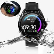 Smart Watch Blood Pressure Wristwatch Phone Mate For Iphone 6s 7 8 X 11 Xs Xr Se