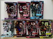 Monster High First Wave Dolls Frankie Abbey Clawdeen Draculaura Retired Rare