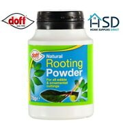 Doff Natural Hormone Rooting Powder 75g Strong Healthy Plants Cuttings 1/2/3/4