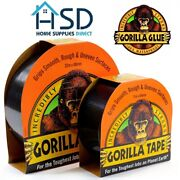 Gorilla Tape Black Tough Thick Strong Gaffa Weather Resistant Duct Repair Gaffer