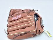 Rawlings Fastpitch Glove 12 Inch Pink Stitching Glove Fp120pc Left