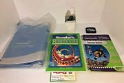 Leap Frog Quantum Pad School House Learning System Reading Book A/c Adapter Lot