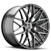 19and039and039 Varro Vd06 Titanium Brushed Wheels With Tires Fit Bmw 328i 5series 745li X3