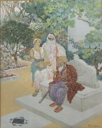Week Arabic The Thousand And One Nuits Landeacuteon Square 1926 Orientalism Old Man