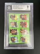 2006 Lionel Messi Panini World Cup Rookie Candy Sticker Hard Grade Bgs 9 /4 Pop