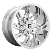 20 Inch Chrome Rims Wheels Fuel Offroad D746 Lifted Ford F150 Truck 6x135 20x10