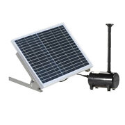 10w Solar Fountain Water Pump Panel Pool Garden Pond Watering Kit A4a5