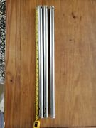 Stainless 24 X 1 Stanchions. Sold As A Set If 3.