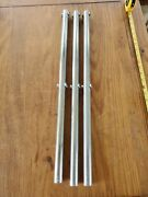 Stainless 25 X 1 Stanchions. Sold As A Set If 3