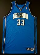 Grant Hill Magic Game Worn Jersey Tracy Mcgrady Shaquille O'neal Vince Carter