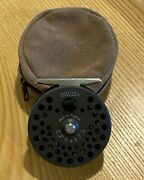 Orvis Cfo 123 Fly Fishing Reel Made In England With Fly Line And Zipper Case