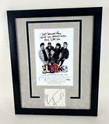 Clerks Kevin Smith Autographed Signed 16x20 Framed Movie Poster Photo Acoa