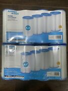 Polygroup Pool Filter Cartridge A Or C Type. Lot Of 2. 8 Filters. Summer Waves