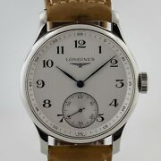 Longines Master Collection, Ref L2.640.4, Men's, Stainless Steel, Hand-wound Mov