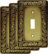 Franklin Brass W10108v-r Paisley Single Toggle Switch Wall Plate