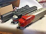 0 Lionel/marx Postwar A Unit Powered And Steam Loco Sold Individually Good Con.