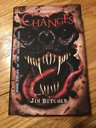 Jim Butcher Changes Signed Limited Hardcover 254 Dresden Files Subterranean