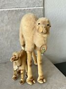 Steiff Vintage Camel And Baby