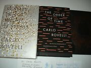 Signed Dr. Carlo Rovelli 3 First Editions Signed On Bookplates Physics