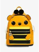 Loungefly Funko Pop Disney Winnie The Pooh Bee Mini Backpack New With Tags
