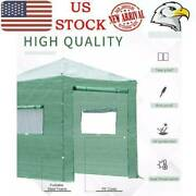 Greenhouse Green House Outdoor Portable Garden Plants Foldable Shed House Us