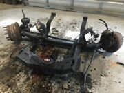2010 Volvo Vnl Front Steer Axle With Air Ride And Leaf Springs Tag 13810 Front