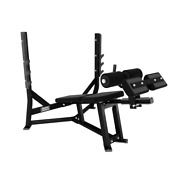 Hammer Strength Olympic Decline Bench With Weight Storage Ex-demo