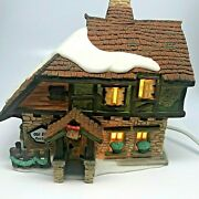Dept 56 Old East Rectory Dickens Village Series Lighted House 1997, Retired