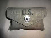 Wwii Us Army M1942 First Aid Kit Pouch - Reproduction Rz835