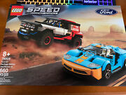 Lego 76905 2021 Speed Champion Ford Gt Heritage Edition And Bronco R