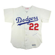 1975 Bill Buckner Los Angeles Dodgers Early Career Rare Game Used Jersey