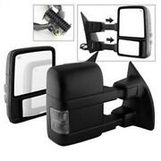 Spyder Auto 9935831 Manual Extendable - Power Heated Adjust Mirror With Led Sign