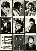 1964 Topps Beatles Black And White Partial Complete Set 3.5 - Vg+
