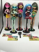 Monster High Gloom Beach 5 Doll Set Target Exclusive Featuring Ghoulia Yelps Ret