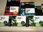 5-pack Hp Genuine 564xl Color Black And Photo Ink Photosmart 6520 7525