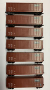 N Scale Frisco Box Freight Car Lot With Knuckle Couplers. Read Description.